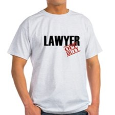 Off Duty Lawyer T-Shirt