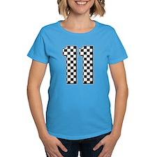 race car number 11 Tee
