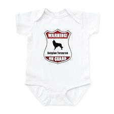 Tervuren On Guard Infant Bodysuit