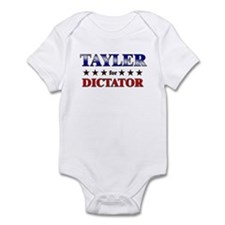 TAYLER for dictator Infant Bodysuit