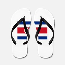 Bandera de Costa Rica - Flag of Costa R Flip Flops