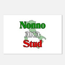 Nonno AKA Stud Postcards (Package of 8)