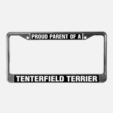 Tenterfield Terrier License Plate Frame