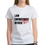 Off Duty Law Enf. Off. Women's T-Shirt