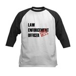 Off Duty Law Enf. Off. Kids Baseball Jersey