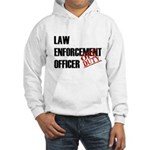 Off Duty Law Enf. Off. Hooded Sweatshirt