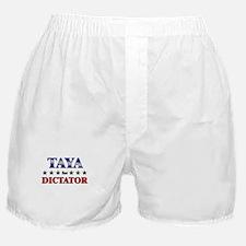 TAYA for dictator Boxer Shorts