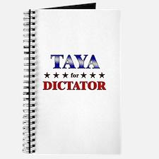 TAYA for dictator Journal