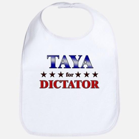 TAYA for dictator Bib