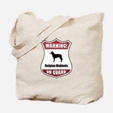 Malinois On Guard Tote Bag