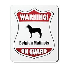 Malinois On Guard Mousepad