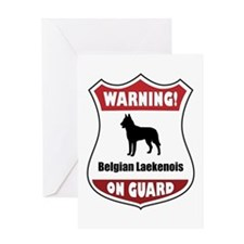 Laekenois On Guard Greeting Card