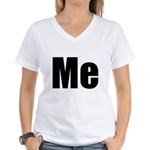 Me/Mini Me Matching Women's V-Neck T-Shirt