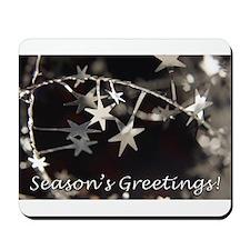 Season's Greetings - Stars Mousepad