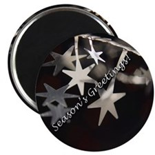 "Season's Greetings - Stars 2.25"" Magnet (100 pack)"