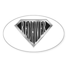 SuperReceiver(metal) Oval Decal
