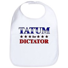 TATUM for dictator Bib