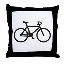 Klaar Bike Gear Throw Pillow