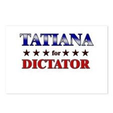 TATIANA for dictator Postcards (Package of 8)