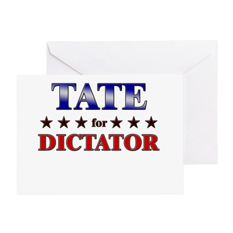TATE for dictator Greeting Card