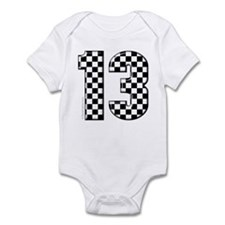 motorsport #13 Infant Bodysuit