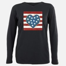 Cool Olympic Plus Size Long Sleeve Tee