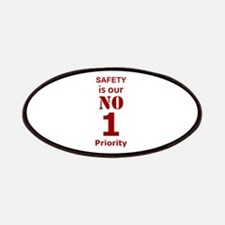 Safety is our No 1 Priority Patch