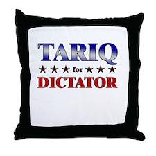 TARIQ for dictator Throw Pillow