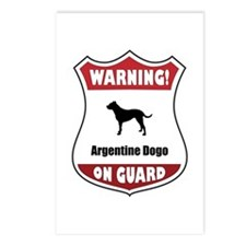 Dogo On Guard Postcards (Package of 8)
