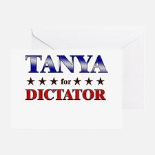 TANYA for dictator Greeting Card