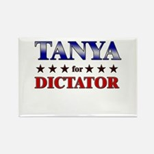 TANYA for dictator Rectangle Magnet