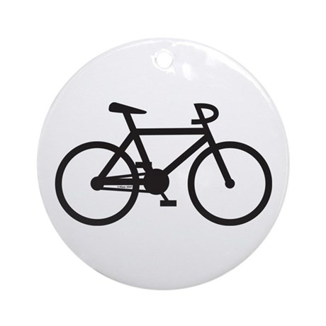 Klaar Bike Gear Ornament (Round)