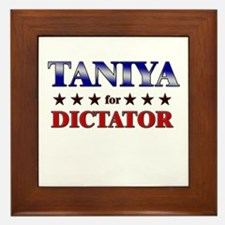 TANIYA for dictator Framed Tile