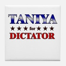 TANIYA for dictator Tile Coaster