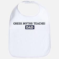 GREEK MYTHS TEACHER Dad Bib