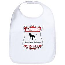 Bulldog On Guard Bib