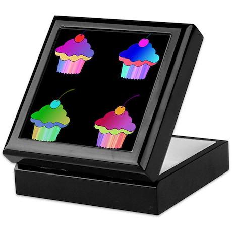 Cherry Cupcakes Keepsake Box