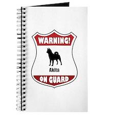 Akita On Guard Journal