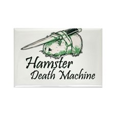 hamster death machine WEB Magnets