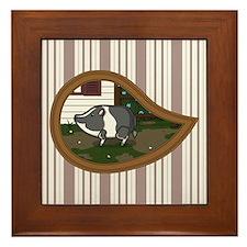 Basil Framed Tile