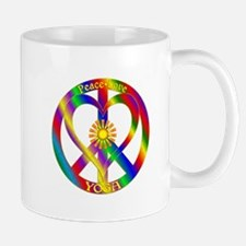 Peace Love Yoga Mug