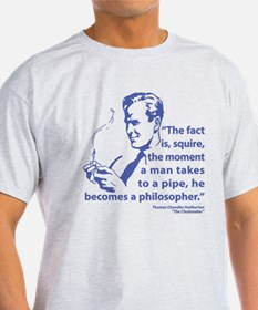 Pipe Smoker V T-Shirt