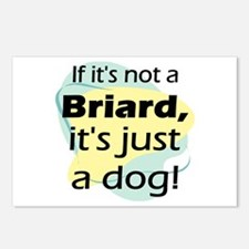 If Not A Briard Postcards (Package of 8)
