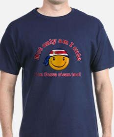 Not only am I cute I'm Costa rican too! T-Shirt