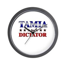 TAMIA for dictator Wall Clock