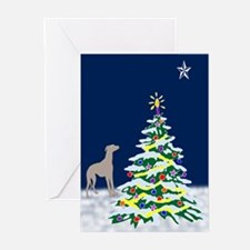 Greyhound North Star Greeting Cards (Pk of 10)