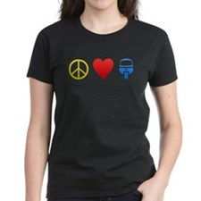 Peace, Love, and Monorails Tee