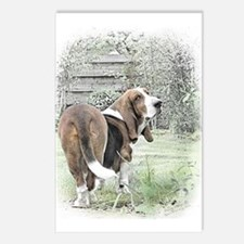 Banished Basset Postcards (Package of 8)