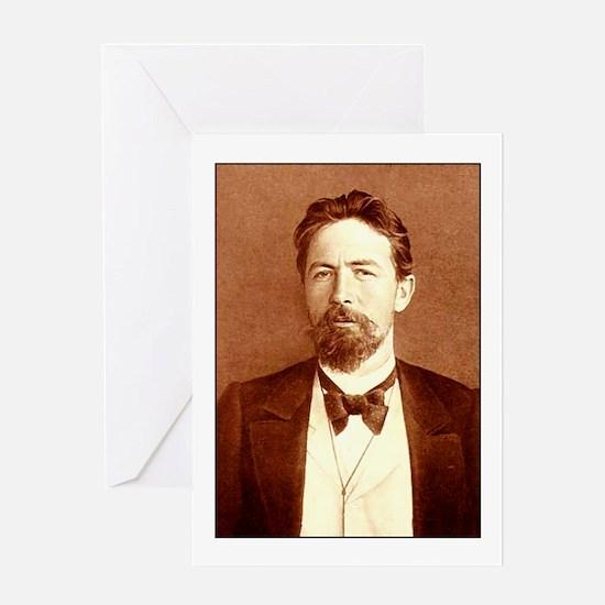 Anton Chekhov Greeting Cards