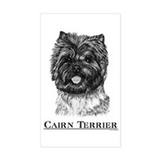 Cairn Terrier Dog Breed Rectangle Decal